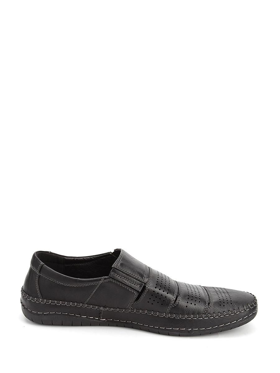 Фото 3 - Мужские туфли LETMI черного цвета