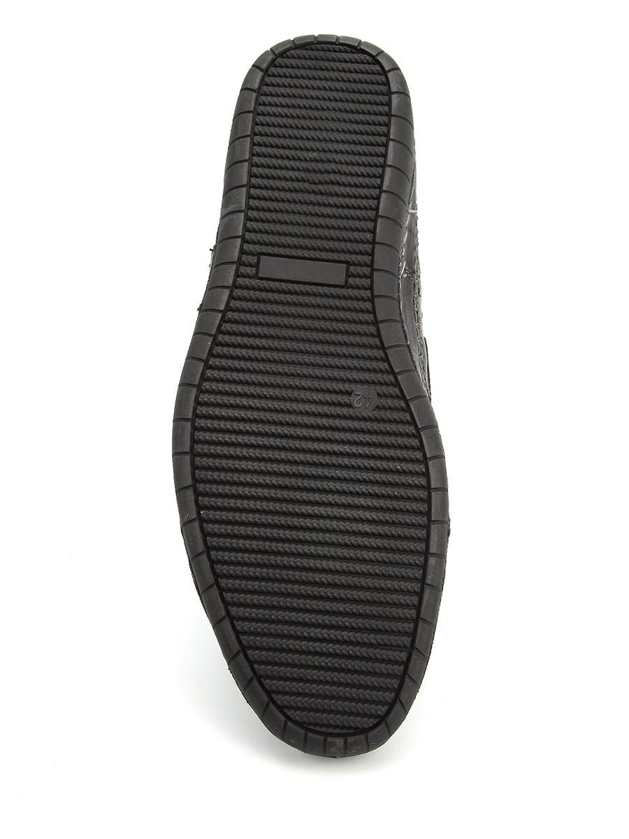 Фото 6 - Мужские туфли LETMI черного цвета