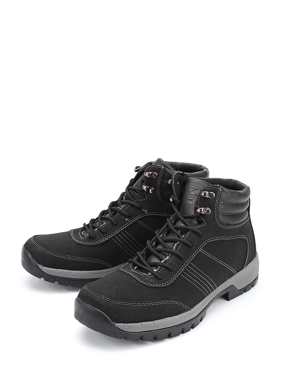 Ботинки CROSBY ботинки из кожи с отворотами из искусственного меха