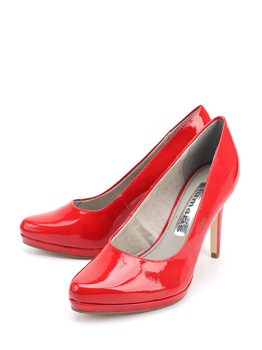 Туфли Tamaris туфли красные на сландо