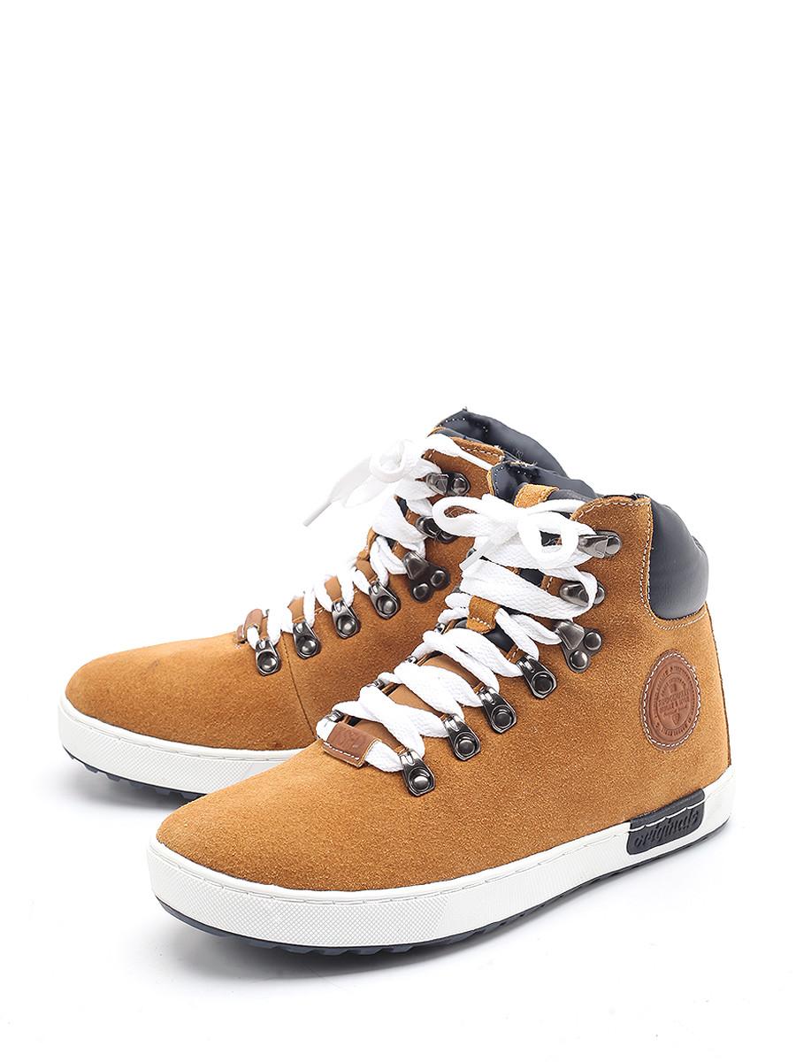 Ботинки TF ботинки из кожи с отворотами из искусственного меха