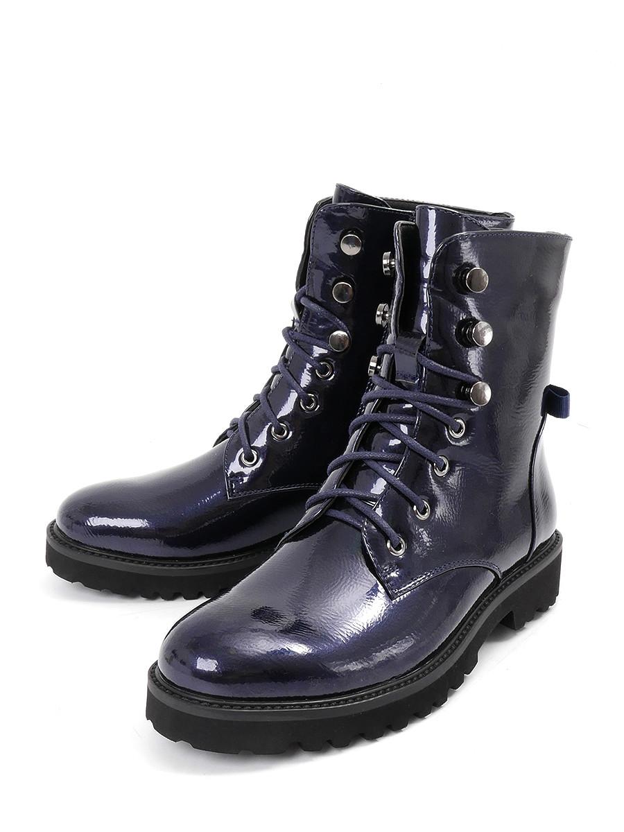 Купить Ботинки BI&KI, синий, искусственная кожа, демисезон