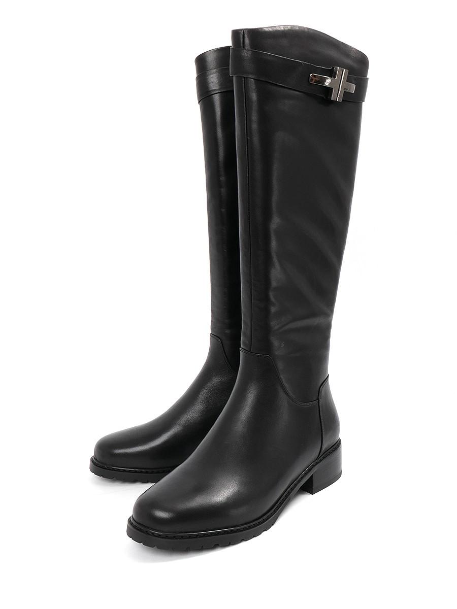 Купить Сапоги Lazzaro, черный, натуральная кожа, зима