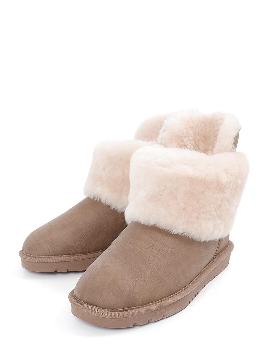 Купить Угги KEDDO, коричневый, искусственная кожа, зима