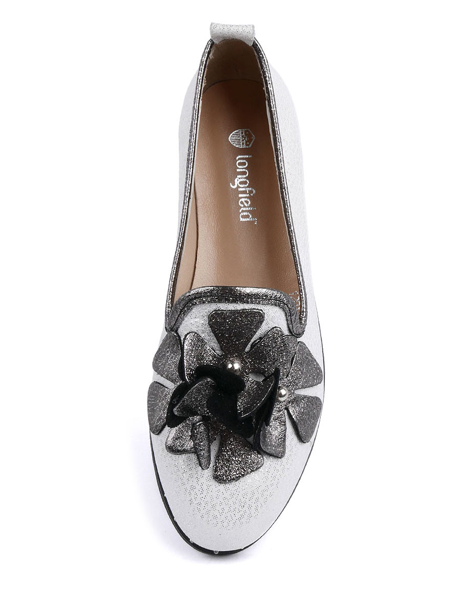 Фото 5 - Женские туфли Longfield белого цвета