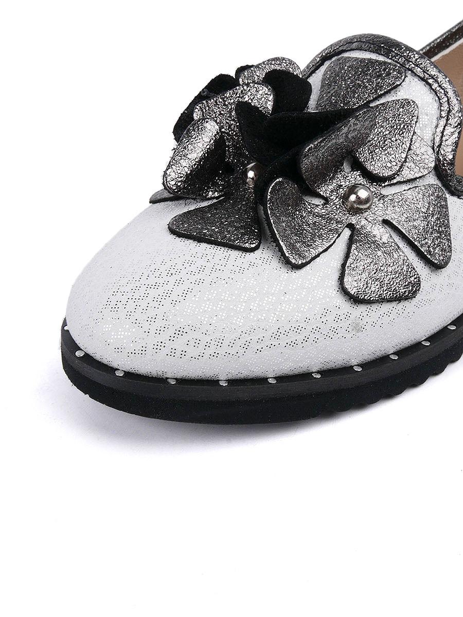 Фото 7 - Женские туфли Longfield белого цвета