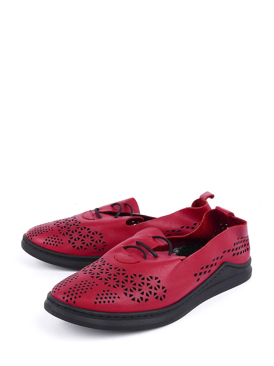 Фото - Женские ботинки и полуботинки Longfield красного цвета